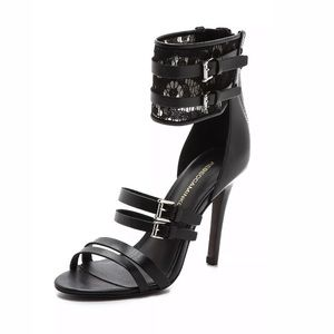 Rebecca Minkoff 8 Miller Ankle Cuff Lace Sandals